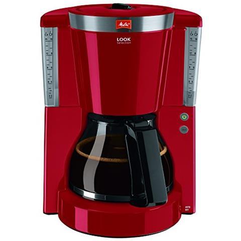 , Macchina Per Caffè Con Caraffa In Vetro, Collezione Sguardo Selezionatore Di Aroma Brevettato Glaskanne Rot
