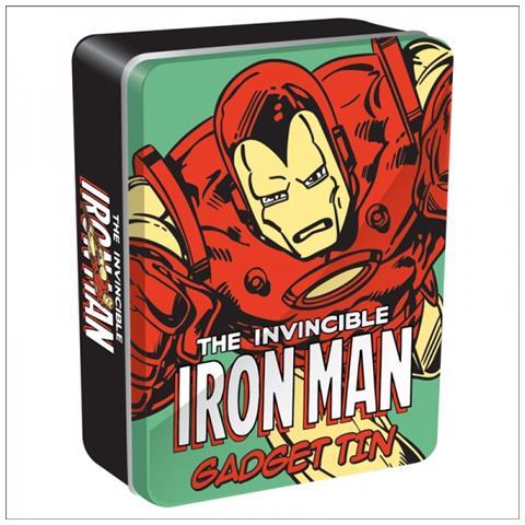 HALF MOON BAY Marvel: Iron Man - Tin Gadget (scatola Latta)