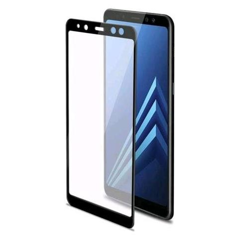 CELLY Pellicola Protettiva per Galaxy A8 PLUS Colore Nero