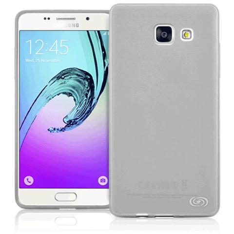 FONEX Inv Cover Ultra Sottile 0,2 mm in Morbido TPU per Galaxy A5 (6) Colore Nero Trasparente