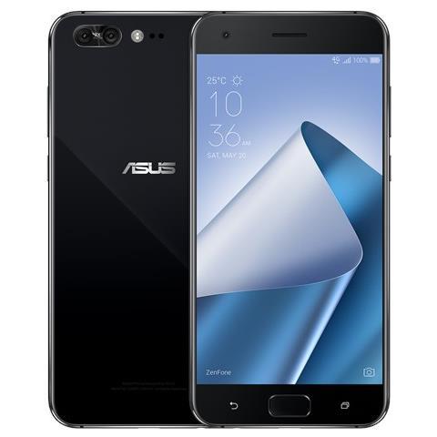 """ASUS Zenfone 4 Pro Nero 64 GB 4G / LTE Display 5.5"""" Full HD Slot Micro SD Fotocamera 12 Mpx Android Tim Italia"""