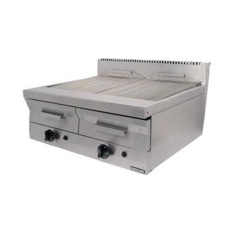 Griglia Pietra Lavica Gas Barbecue Grill Cm 80x70x30 Rs1254