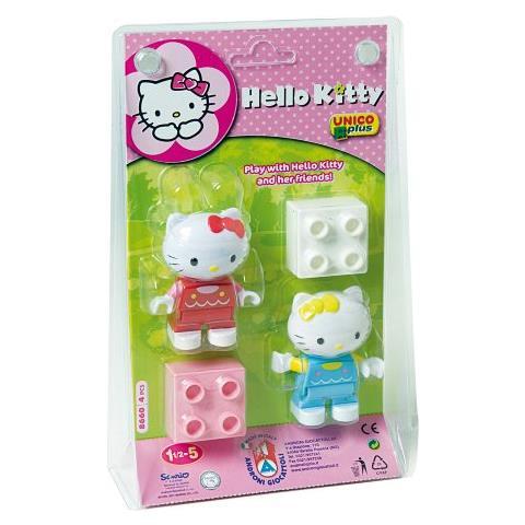ANDRONI Unico Plus Hello Kitty Figure in Valigetta 4pz 8660
