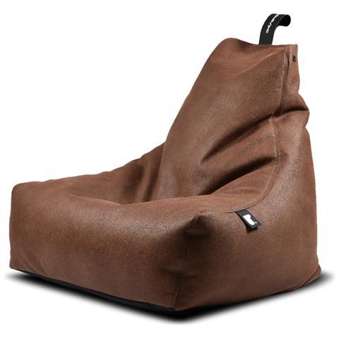 B-BAG Poltrona A Sacco Indoor Mighty-b Chestnut