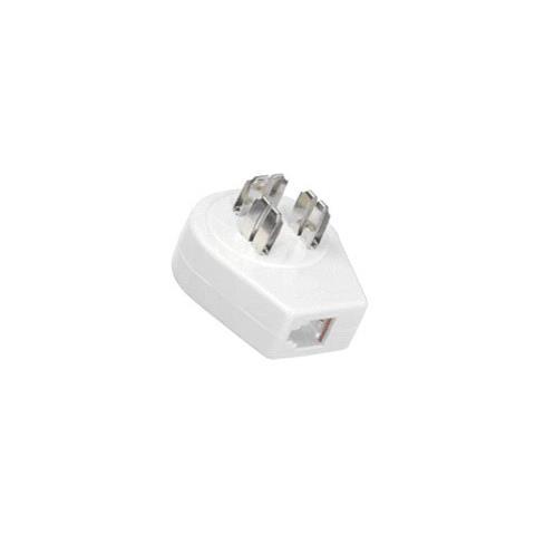 Microconnect TLFDIV Tipo K (DK) Nero adattatore per presa di corrente