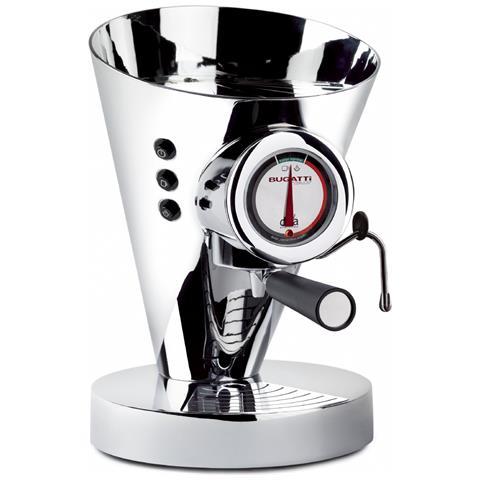 Macchina Caffè Espresso Manuale Diva Evolution Capacità Serbatoio 0,8 Litri Potenza 1700 Watt Colore Cromato