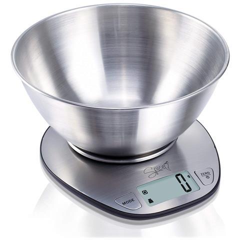 Doppiozero Bilancia Digitale Elettronica Da Cucina In Acciaio Inossidabile