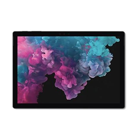 Surface Pro 6 Nero 12,3'' Intel Core i5 8th Ram 8GB SSD 256GB WiFi BT Fotocamera Windows 10 Home - Italia