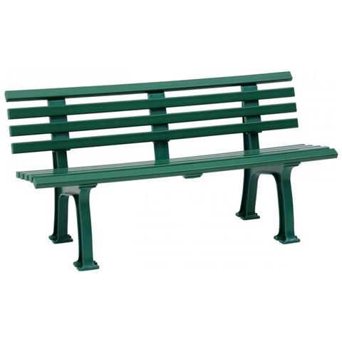 Panchina 3 Posti Verde Da Esterno Sylt By Blome Panca Per Giardino Verde Arredamento Outdoor