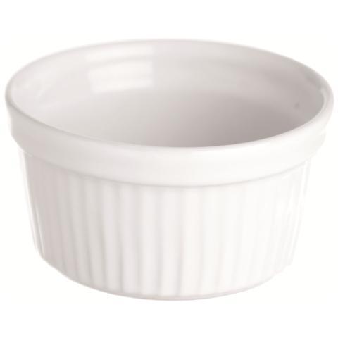 Ramequin Costolato White Home Bianco 19,0 cm