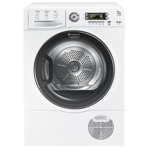 HOTPOINT Asciugatrice TCD 871 6HY1 (EU) High Definition Drying Soft Dry, 8 Kg Classe A+ a Condensazione con Pompa di Calore