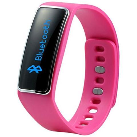 TECHNAXX TX-39 Braccialetto Fitness Elegance connessione Bluetooth per Attività Fisica e Sonno Android e iOS - Rosa