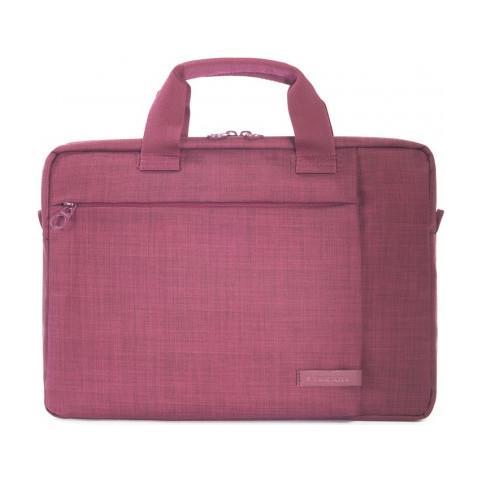 Borsa per Notebook fino a 13.3'' in Nylon Colore Bordeaux
