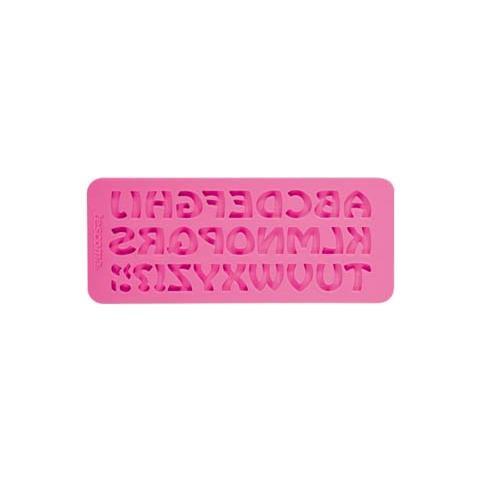 Tescoma Stampo in silicone x pasta di zucchero alfabeto retro' delicia deco