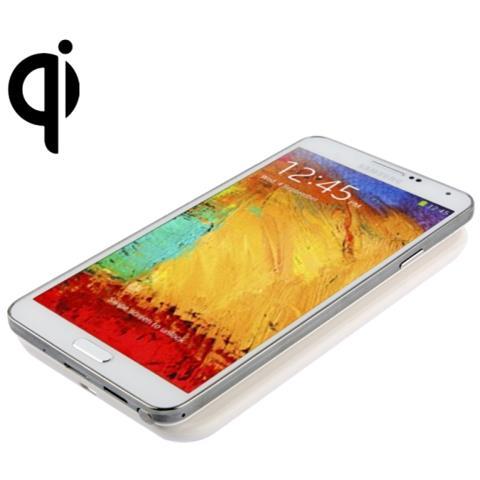 NetworkShop Base Di Ricarica Wireless Qi Ultra Slim Bianca Per Smartphone