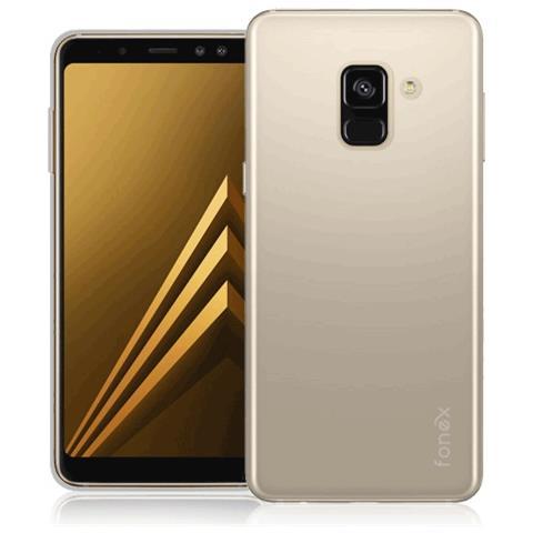 FONEX Cover per Galaxy A8 Colore Trasparente