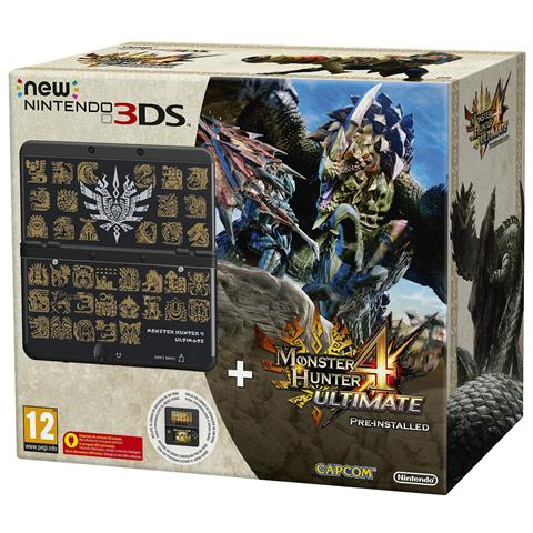 Image of Console New 3DS + Monster Hunter 4 Ultimate Pack Limited Edition