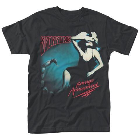 PHM Scorpions - Savage Amusement (T-Shirt Unisex Tg. S)