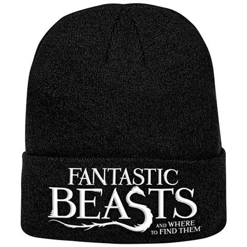 PHM Fantastic Beasts - Logo Knitted Ski Hat (Berretto)
