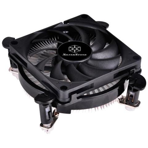 SILVERSTONE Dissipatore di Calore Nitrogon per CPU Intel Socket LGA LGA 1150/1151/1155/1156