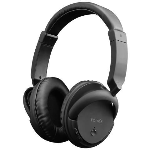 FONEX CUFFIE STEREO 4.2 BLUETOOTH SOUL NOISE REDUCTION BLACK