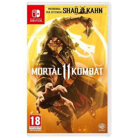 WARNER BROS SWITCH - Mortal Kombat 11