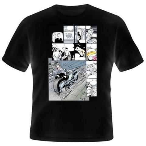 2BNERD Batman - Miller Comics Motorbike (Unisex Tg. L)