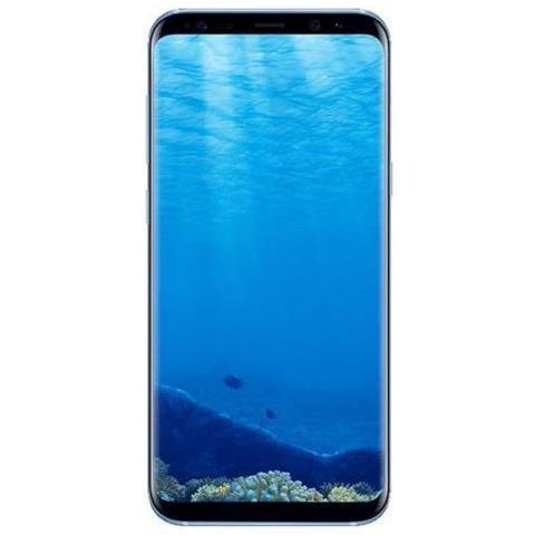 "SAMSUNG Galaxy S8+ Blu 64 GB 4G / LTE Impermeabile Display 6.2"" Quad HD Slot Micro SD Fotocamera 12 Mpx Android Tim Italia"