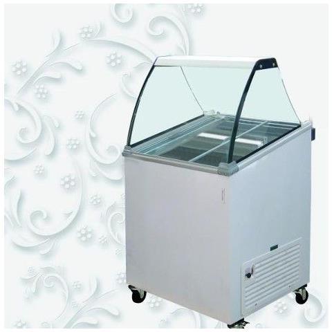 Image of Vetrina Banco Frigo gelato 3 vaschette - Temp. -12