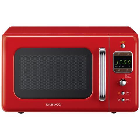 KOR-6LBR Forno a Microonde Digitale Capacità 20 litri Colore Rosso