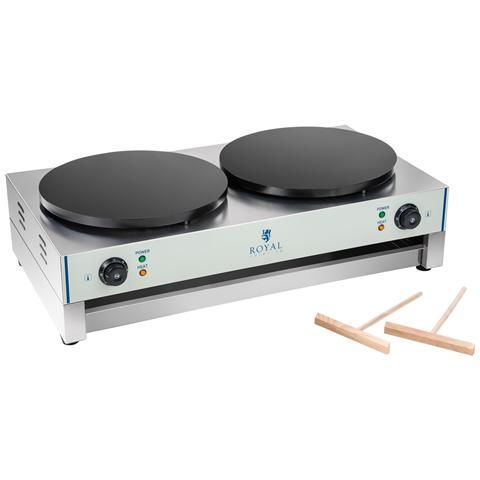 Crepiera Professionale - 40 Cm - 2 X 3000 Watt - 2.0