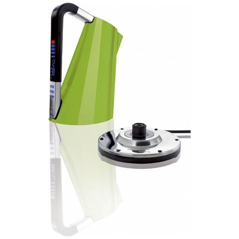 Bollitore Elettronico Vera Capacità 1,7 Litri Potenza 2400 Watt Colore Verde Mela