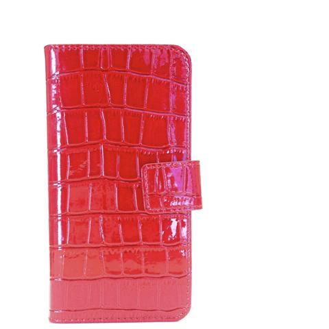 AIINO Custodia Crocco per iPhone 6 Plus / 6s Plus - Red