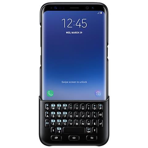 SAMSUNG Keyboard Cover per Galaxy S8+ colore Nero