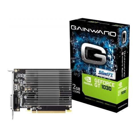 Image of GeForce GT 1030 2 GB GDDR5 Pci-E / DVI / HDMI 2.0 SilentFX
