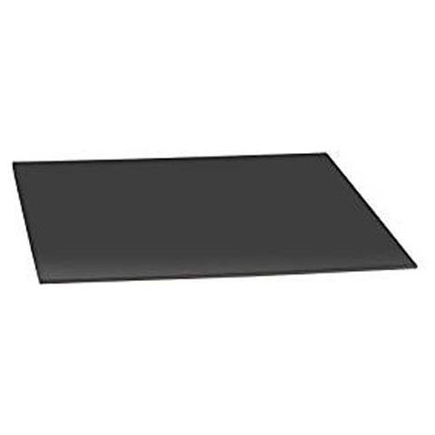 Moneta Piatto torta nero / argento quadrato 30 x 40cm