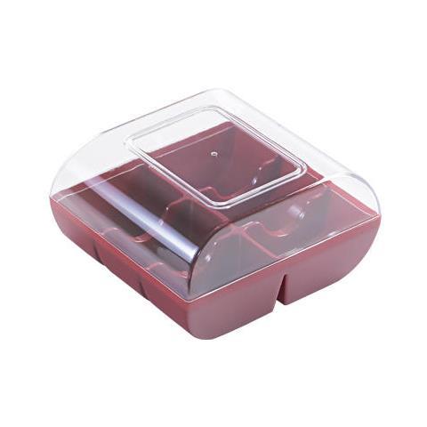 Macad– 6 - Confezione In Plastica Per 6 Macarons