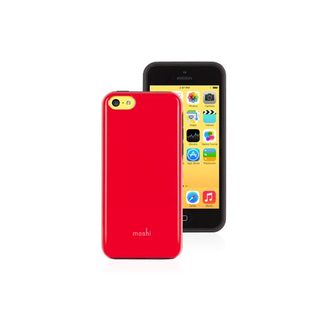 MOSHI iGlaze Remix per iPhone 5C - Red