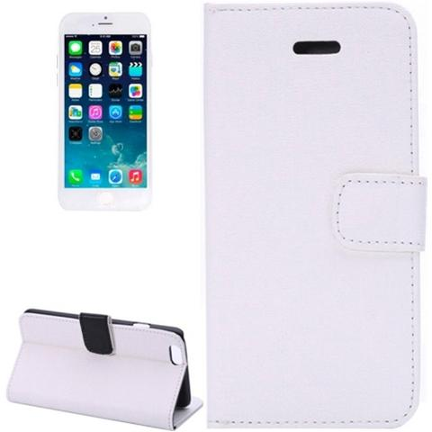 Network Shop Custodia Oracle Texture Flip Leather Case Con Stand Per Iphone 6 Bianco