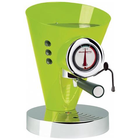 Macchina Caffè Espresso Manuale Diva Evolution Capacità Serbatoio 0,8 Litri Potenza 1700 Watt Colore Verde Mela