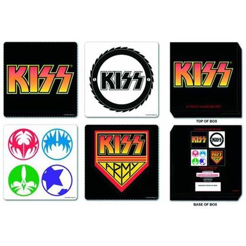 Kiss - 4 Piece (set 4 Sottobicchieri)
