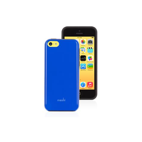 MOSHI iGlaze Remix per iPhone 5C - Blue
