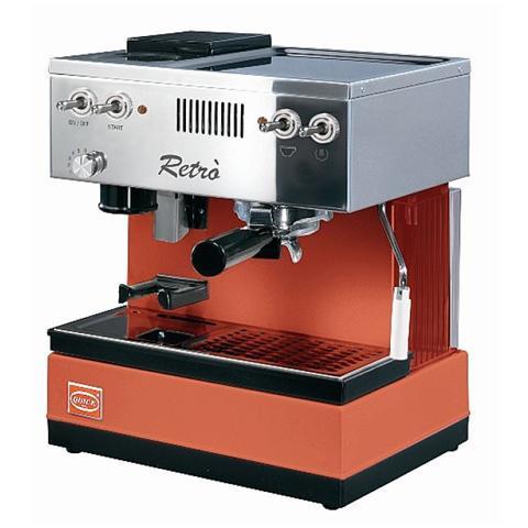 0835N Macchina da Caffè Manuale in Acciaio Inox con Macinacaffè