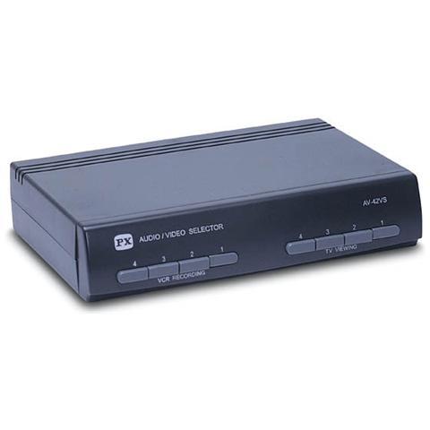 NVS Switch Centralina di commutazione commutatore rca s-video minidin