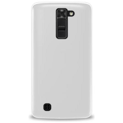 "PURO Custodia TPU Ultra-Slim ''0.3'' per Lg K7 5.0"" Con Screen Protector Trasparente"