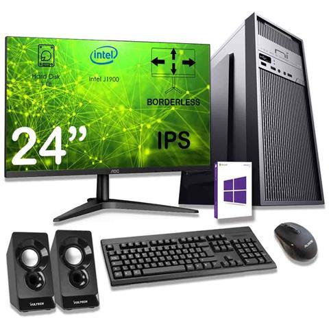 Pc Completo 16gb Ram Hdd 1tb Monitor Mouse Tastiera Altoparlanti Inclusi