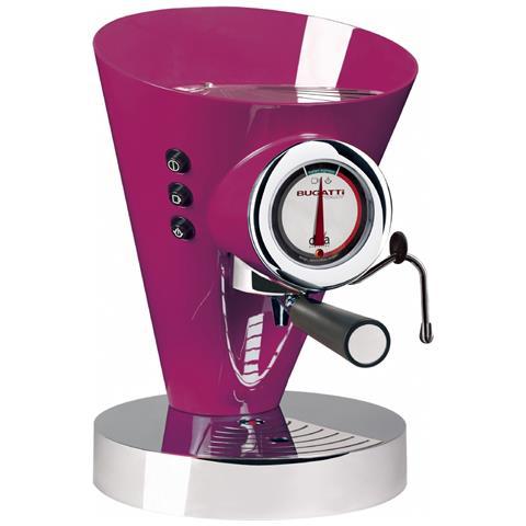 Macchina Caffè Espresso Manuale Diva Evolution Capacità Serbatoio 0,8 Litri Potenza 1700 Watt Colore Lilla