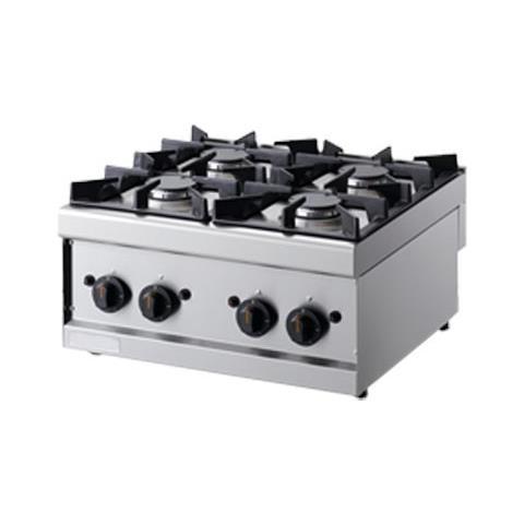 Cucina 4 Fuochi A Gas - Dim. cm. 60x60