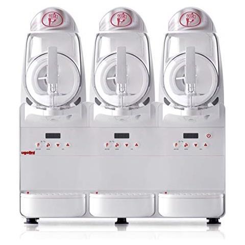Minigel Plus 3 - Dispenser Distributore Refrigerato Gelato Soft Granite Sorbetti Bevande Semifreddi 1 X 6 Litri