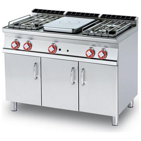 Cucina A Gas Professionale Afp / Tp4-712gp